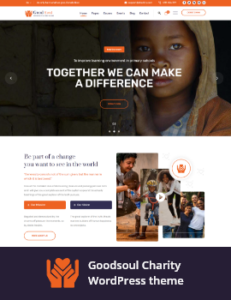 HelpingHands v2.7.5 - Charity/Fundraising WordPress Theme